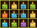 Xmas Candles Mat...