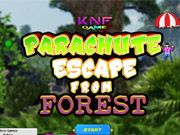 Parachute Escape from Forest